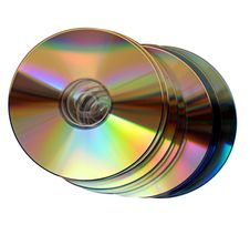 Free CD Royalty Free Stock Photo - 6338275