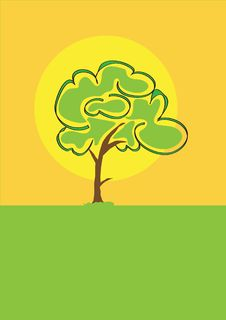Free Tree Silhouette Royalty Free Stock Image - 6338346
