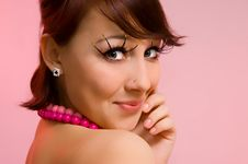 Free The Girl In Pink Royalty Free Stock Images - 6338359