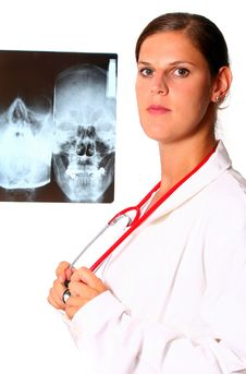 Free Young Doctor With Stethoscope Stock Photo - 6338630
