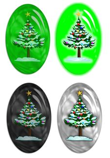 Free Christmas Rollovers 2 Royalty Free Stock Image - 6339546