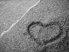 Free Sand Heart Royalty Free Stock Photo - 6339685