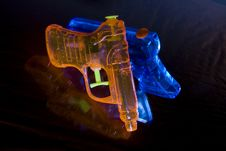 Free Toy Water Pistols Royalty Free Stock Images - 6339729