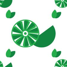 Free Seamless Lime Background Royalty Free Stock Images - 6339909