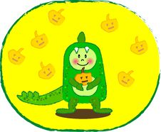 Free Dinosaur Boy Stock Image - 6339941