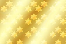 Free Magen David On Gold Background Royalty Free Stock Photo - 63392435