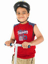 Free Asian Boy With Toy Sccoter Royalty Free Stock Photos - 6341728