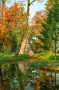 Free Pyramid In Autumn Day Stock Images - 6348504