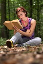 Free Young Pretty Girl Reading A Book. Royalty Free Stock Photography - 6349227