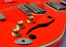 Free Red Guitar Royalty Free Stock Image - 6340786