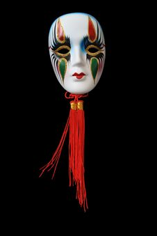 Free Venetian Mask Royalty Free Stock Photos - 6340928