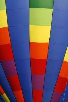 Free Rainbow Hot Air Balloon 2 Stock Image - 6341311