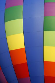 Free Rainbow Hot Air Balloon 3 Stock Images - 6341314