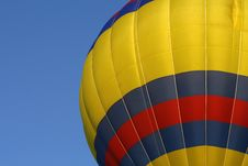 Free Red, Yellow, Blue Hot Air Balloon 4 Royalty Free Stock Images - 6341359