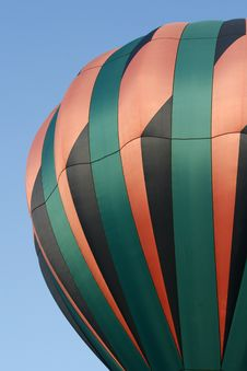 Free Pink, Green And Black Hot Air Balloon Royalty Free Stock Image - 6341366