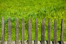 Free Old Wooden Fence. Royalty Free Stock Photo - 6341955