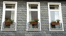 Free Three Windows Stock Photo - 6342130