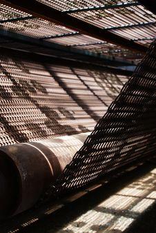 Conveyer Belt Royalty Free Stock Photography