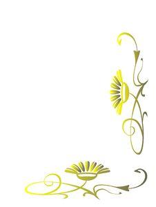 Free Beautiful Decorative Vegetative Elements Stock Photography - 6343122