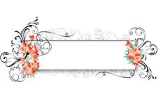 Free Floral Border Royalty Free Stock Images - 6343249