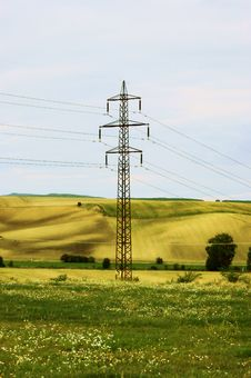 Free Electric Pile Royalty Free Stock Image - 6343746