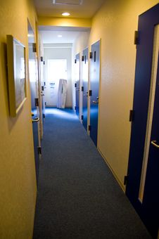 The Hallway Royalty Free Stock Photo
