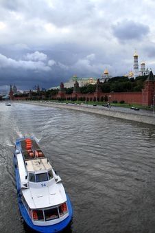 Free Moscow-river Royalty Free Stock Photos - 6344648