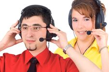 Free Customer Service Agent Royalty Free Stock Image - 6344676