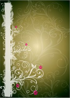 Free Floral Border Stock Photography - 6344692