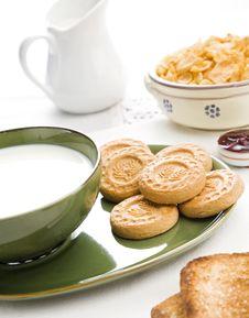 Free Bright Breakfast Royalty Free Stock Photo - 6344765