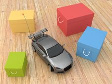 Free Sport Toy Car Stock Photo - 6345310