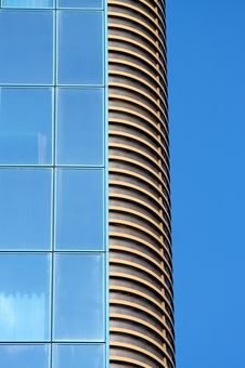Free Blue Tall Structure Royalty Free Stock Photo - 6345655