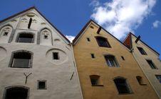 Free  Three Sisters  House In Tallinn Stock Image - 6346081