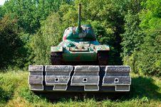 Free Soviet Tank From WW2 Stock Photo - 6346560
