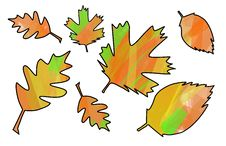 Free Leaf Mask Autum090208 A Royalty Free Stock Photography - 6346597