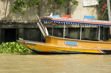 Free River Boat In Bangkok Royalty Free Stock Photos - 6346648