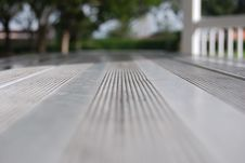 Free Park Table Perspective Royalty Free Stock Images - 6346929