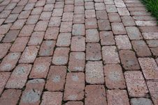 Free A Brick Path In The Park Stock Photos - 6346963