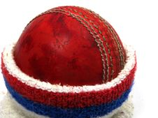 Free Cricket Ball In Sweat Band Royalty Free Stock Photos - 6347478