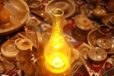 Free Gas Lamp Royalty Free Stock Photo - 6347735