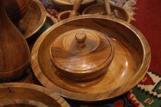 Free Handmade Wood Plates Stock Image - 6347781