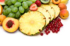 Free Slice Fresh Fruits Stock Images - 6347894