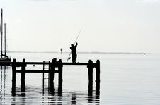 Free Gone Fishing Royalty Free Stock Photos - 6347968