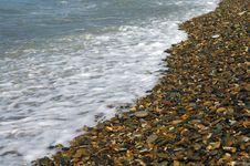 Free Sea-wave And Shingle Royalty Free Stock Photography - 6348137