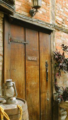 Free Private Doorway Stock Photo - 6348270