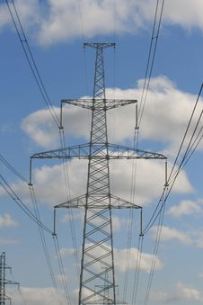 Free Electricity Pylon Royalty Free Stock Photography - 6348317