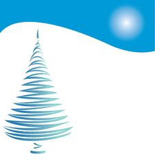 Free Stylized Christmas Tree Stock Photos - 6348573