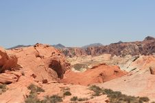 Free Valley Of Fire Royalty Free Stock Photos - 6348608