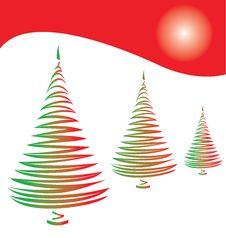 Free Stylized Christmas Tree Stock Photos - 6348613