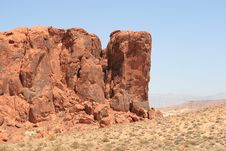 Free Valley Of Fire Royalty Free Stock Image - 6348636
